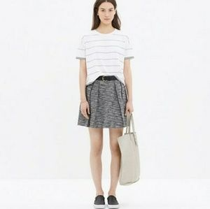 Madewell countdown skirt